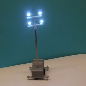OO Scale Mobile Lighting Tower